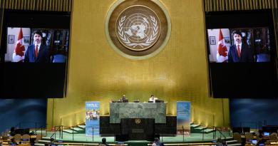 Trudeau pide en la ONU a actuar sin esperar a las grandes potencias