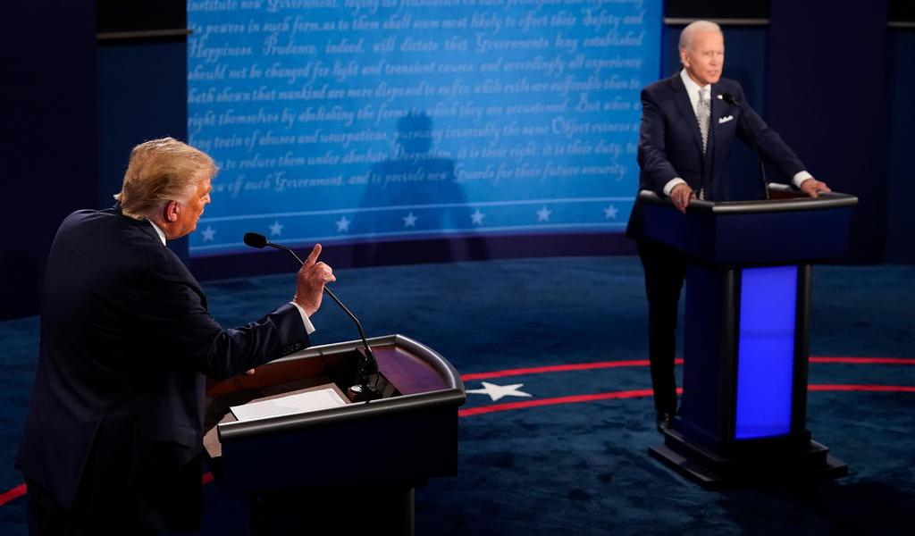Biden desea pronta recuperación a Trump tras dar positivo a COVID-19