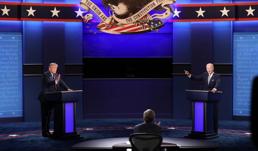 Aventaja Biden a Trump por 14 puntos en intención de voto: encuesta