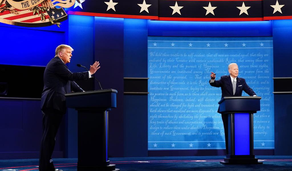 Afirma Biden que aceptará debate con Trump si médicos lo aprueban