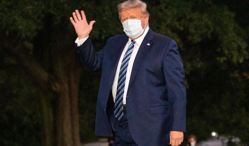Trump compara al COVID-19 con la gripe estacional