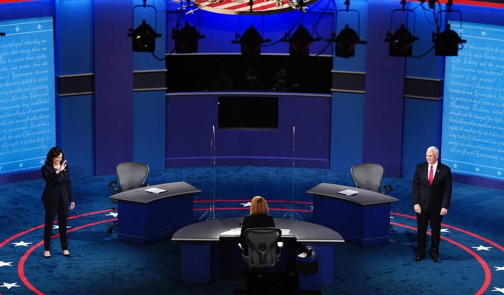 Inicia debate entre Mike Pence y Kamala Harris, aspirantes a Vicepresidencia de EUA