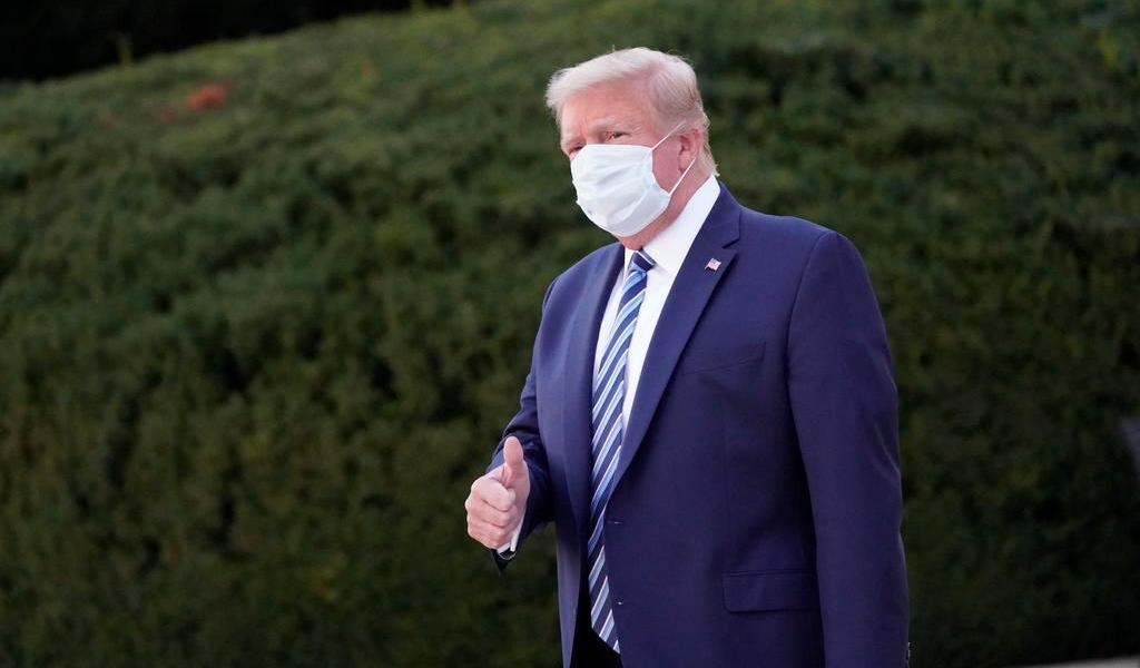 'Trump podrá realizar actos públicos el sábado', anticipa médico del presidente