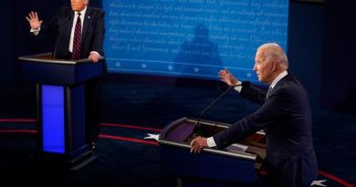 Biden aventaja por 12 puntos a Trump en intención de voto, señala sondeo