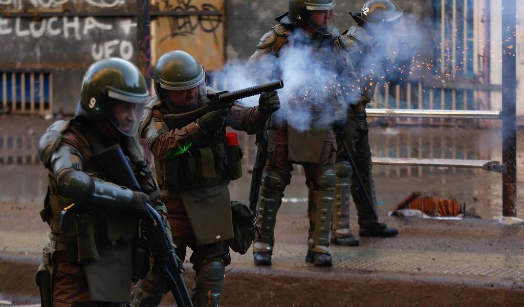 Rechaza Chile política de represión