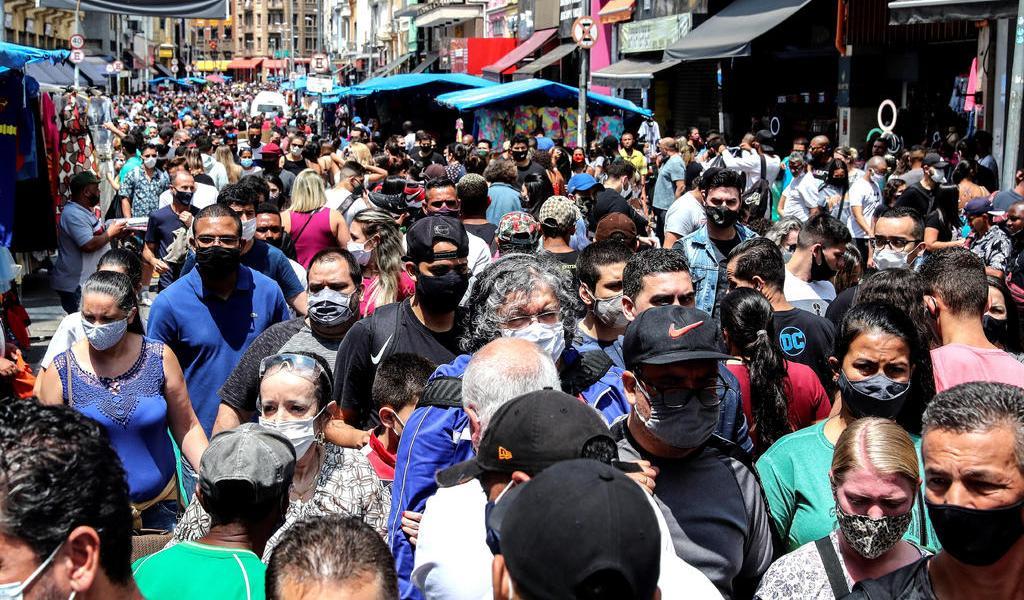 Brasil suma otras 461 muertes por coronavirus