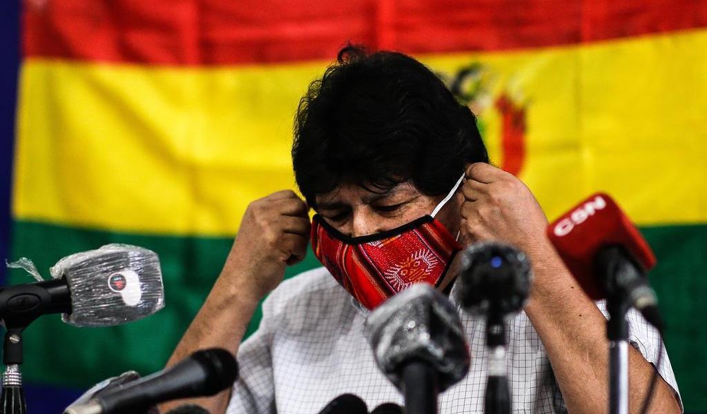 Celebra Evo Morales el 'espíritu pacífico' de elecciones en Bolivia