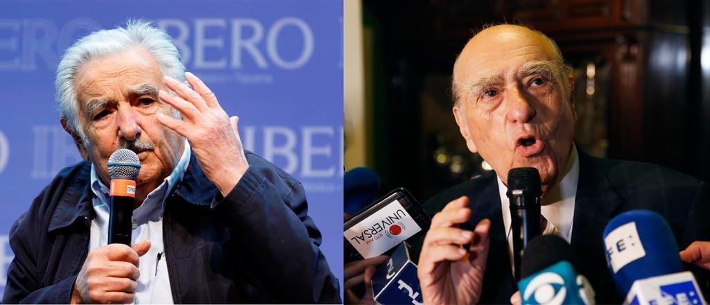 Expresidentes de Uruguay Sanguinetti y Mujica renuncian al Senado