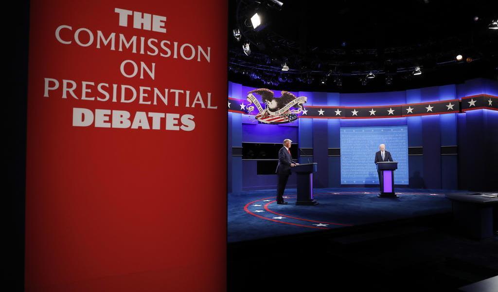 Último debate entre Trump y Biden previo a las elecciones de EUA