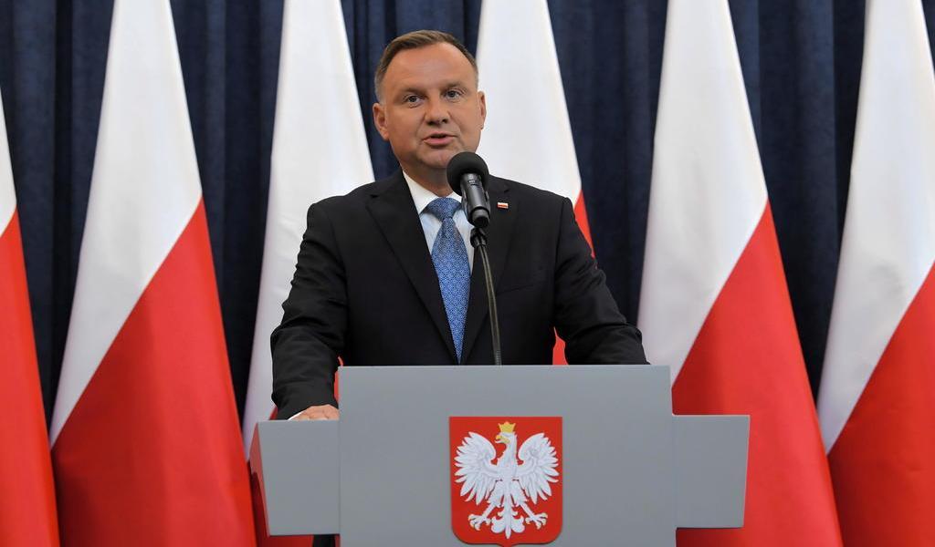 Presidente de Polonia, Andrzej Duda, da positivo a COVID