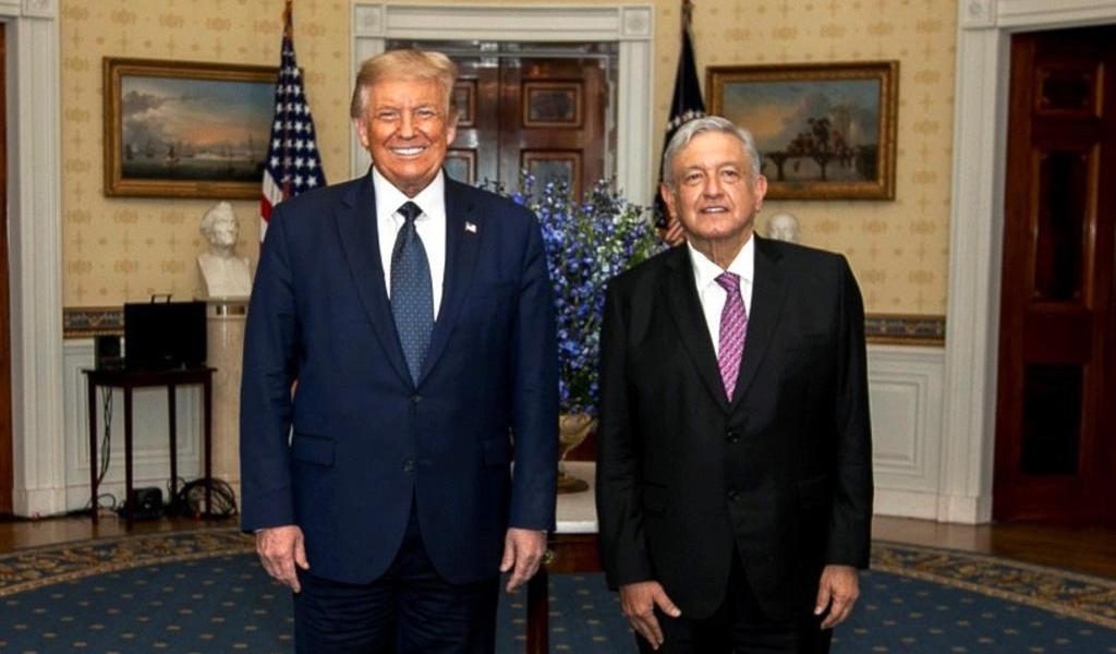 Yo quiero hacer grande a EUA y AMLO a México: Trump