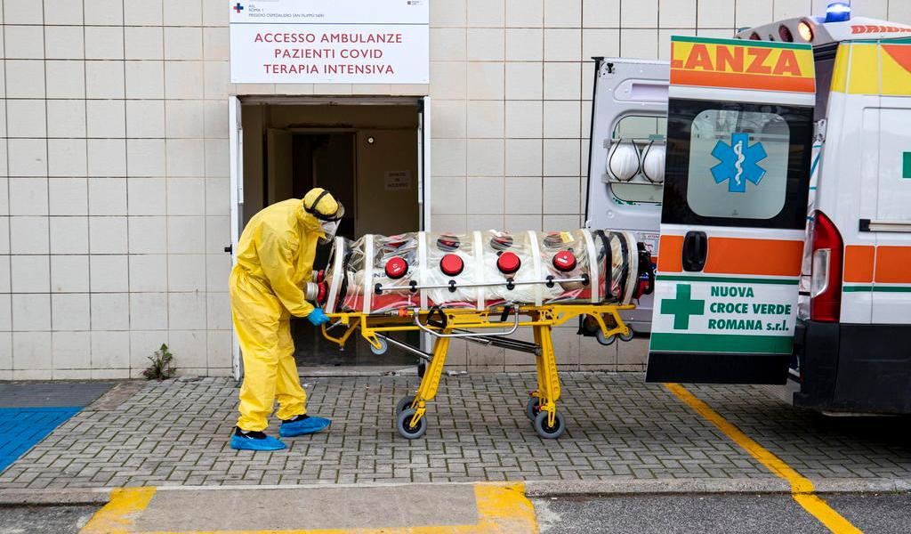 Supera Italia por primera vez los 30 mil casos de COVID-19 en un día