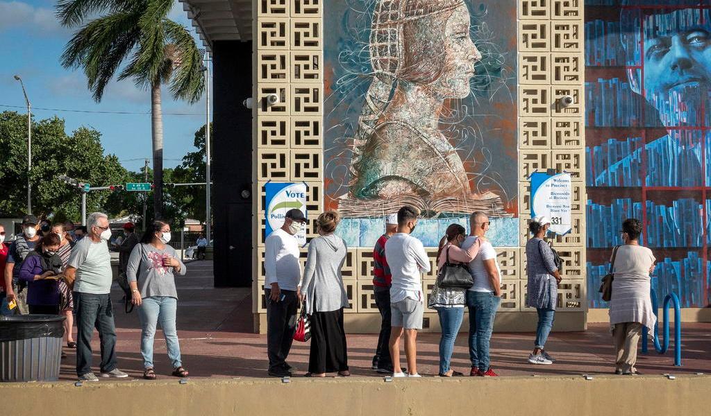 Llega Florida a comicios con récord de votos y reto de prontos resultados