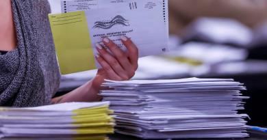Pensilvania terminará hasta el jueves de contar todos los votos