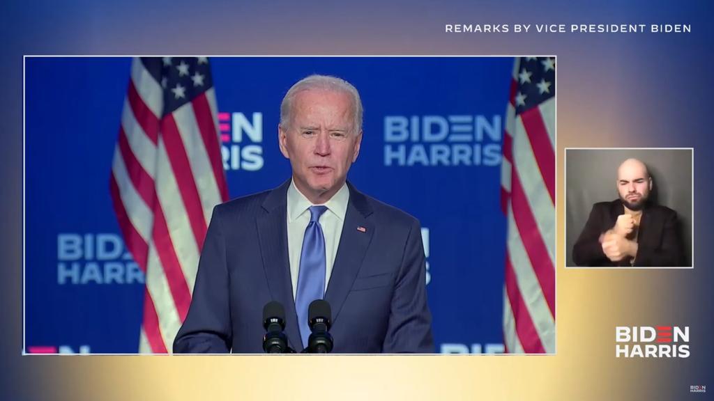 'Vamos a ganar la carrera', sostiene Biden sobre la Presidencia de EUA