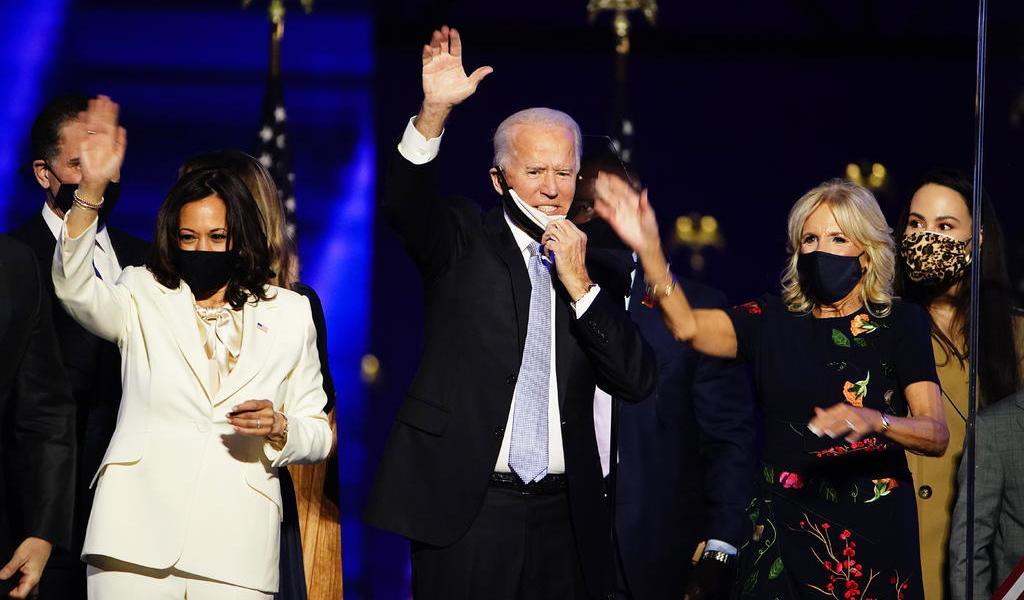 Biden anuncia prioridades como próximo presidente de EUA