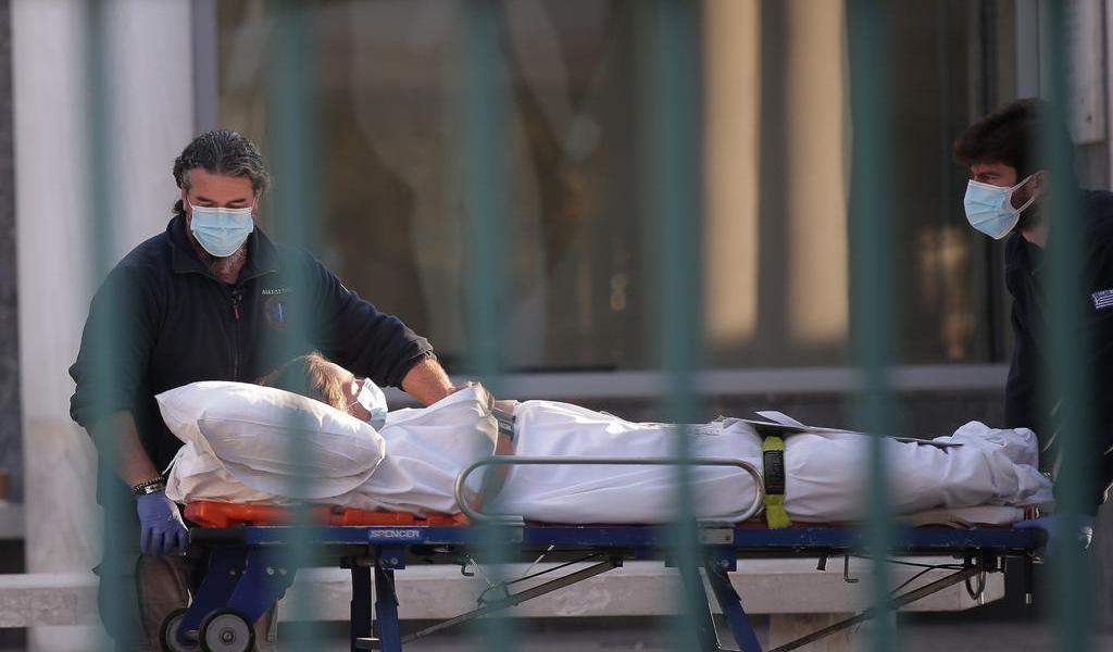 Rompe Grecia todos sus récords de contagios, fallecidos e intubados por COVID-19