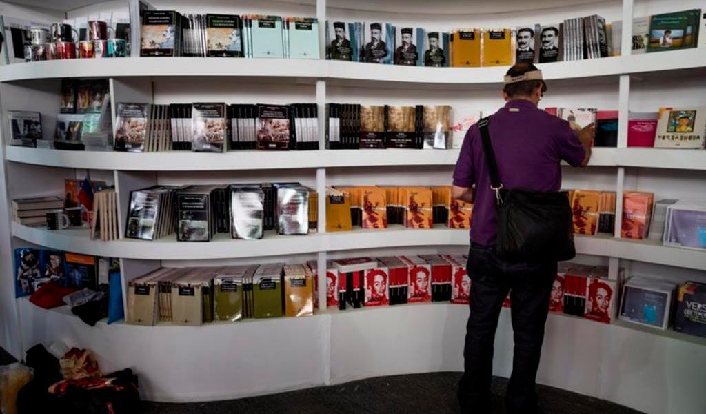 Da comienzo la Feria Internacional del Libro en Venezuela
