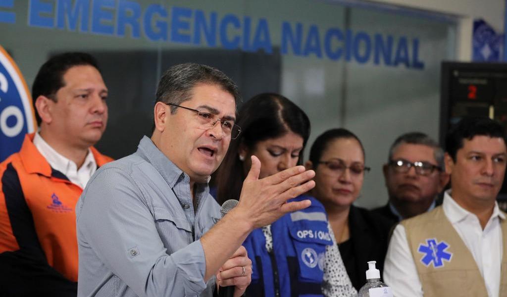 Presidente de Honduras dice que 'Iota' puede causar una 'devastación terrible'