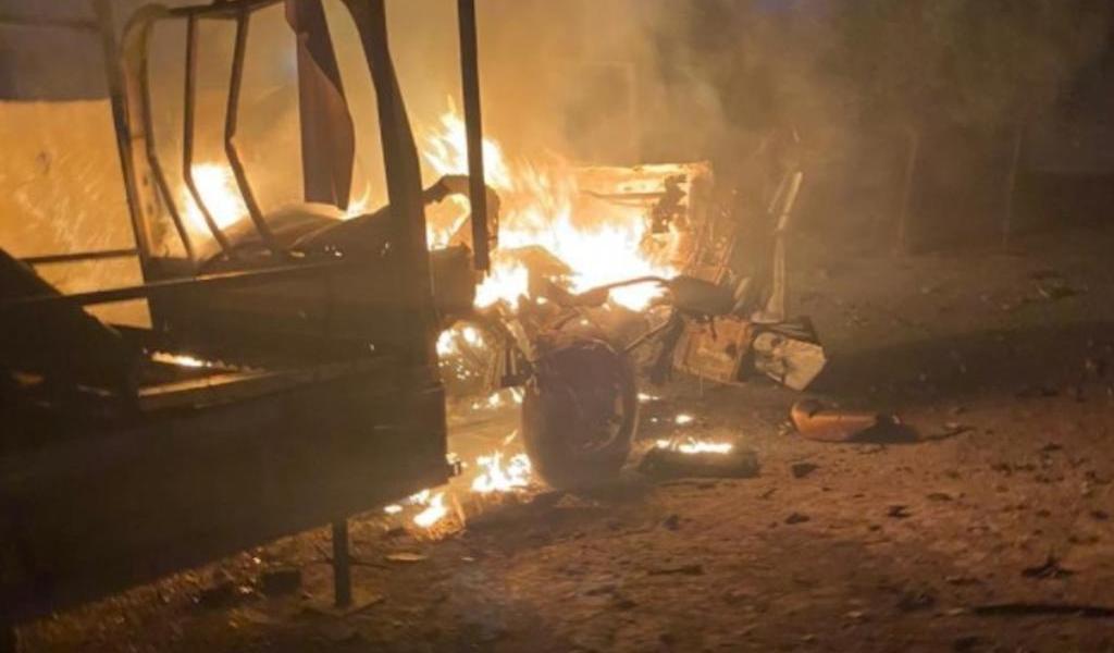 Lanzan cohetes Katyusha contra embajada de EUA en Baghdad
