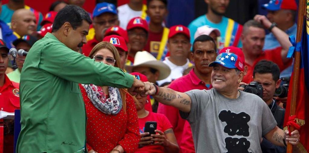 Nicolás Maduro despide a su 'hermano' Diego Armando Maradona