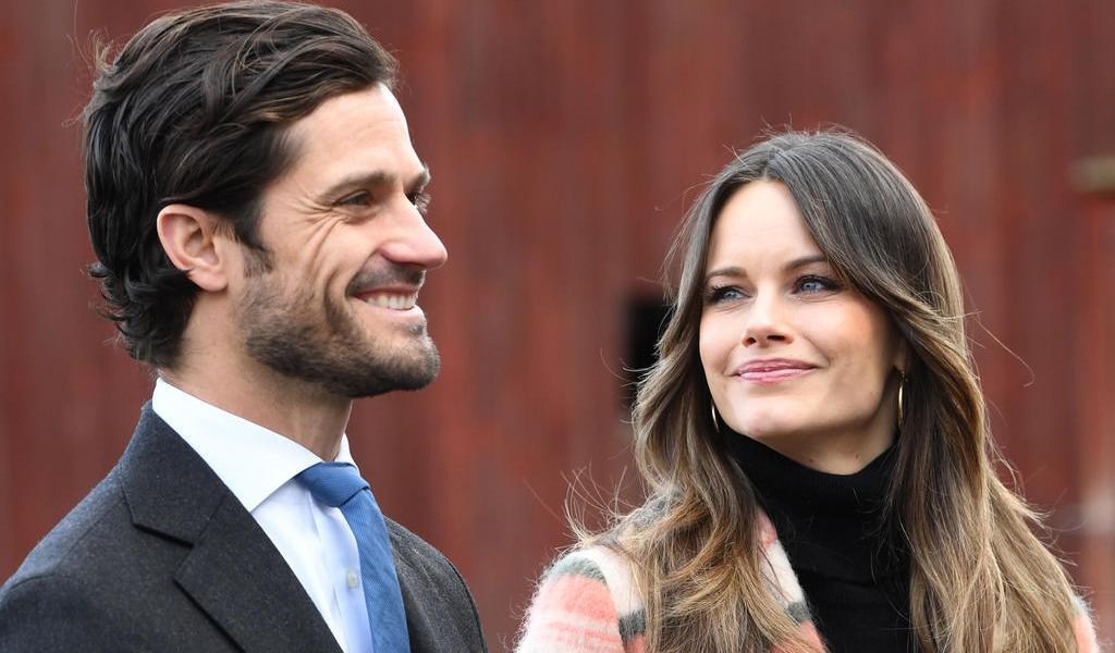 Carl Philip y Sofía, príncipes de Suecia, esperan su tercer hijo