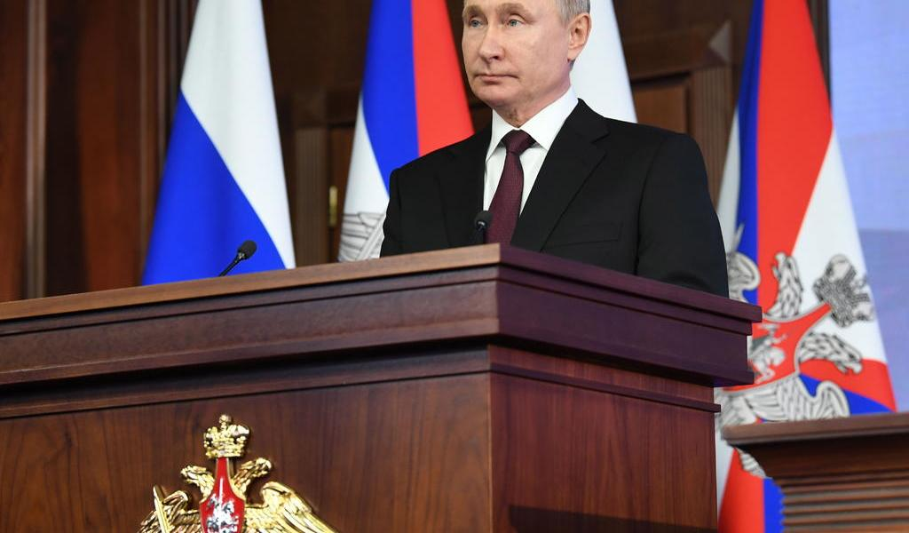 Promulga Putin ley que le garantiza la inmunidad cuando deje el Kremlin