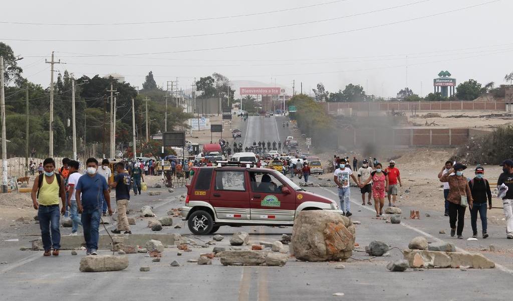 Reanudan protestas en Perú por ley