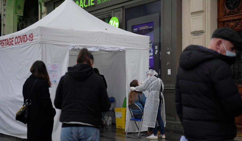 Continúan subiendo los contagios en Francia