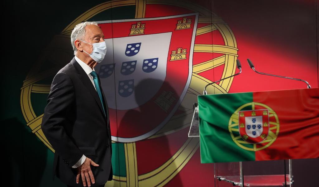 Presidente de Portugal da positivo a COVID