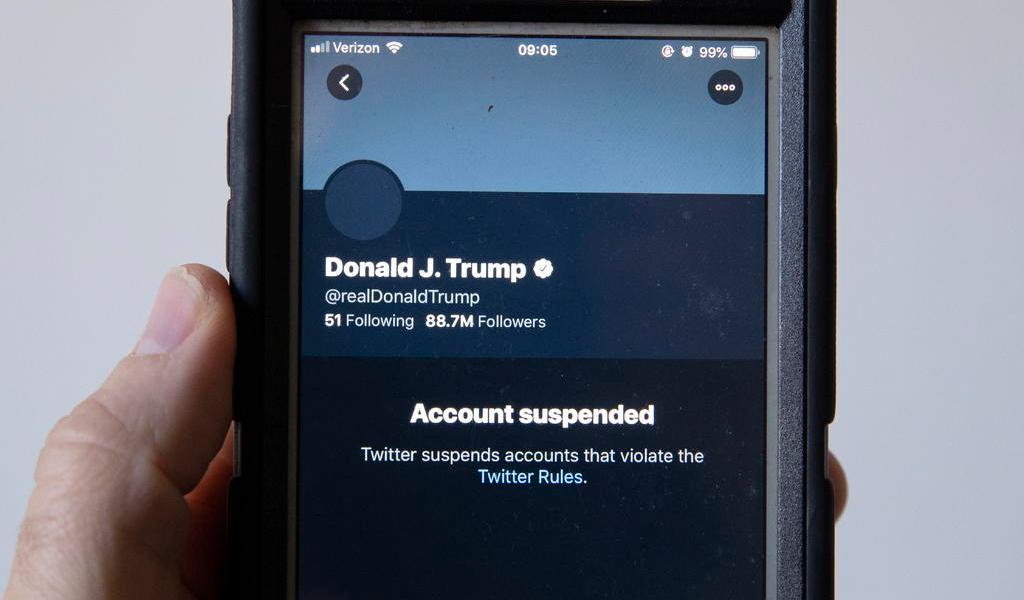 CEO de Twitter explica por que se tomó la decisión de cancelar la cuenta de Donald Trump