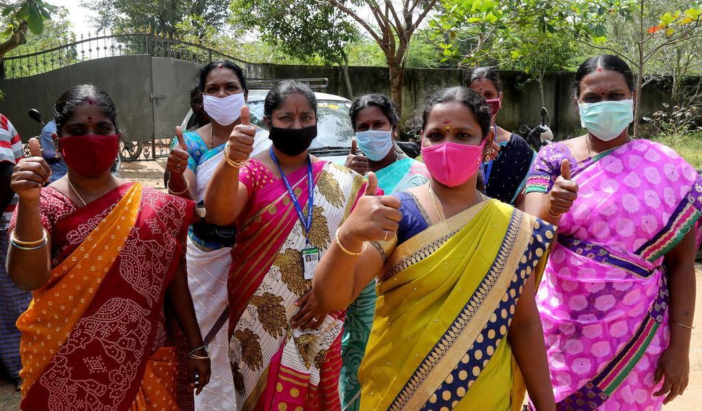 Pueblo indio de Kamala Harris reza para protegerla durante su investidura