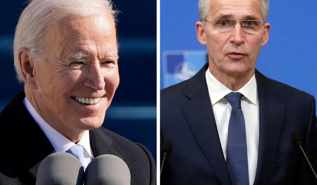 El secretario de la OTAN 'acuerda trabajar de forma estrecha' con Joe Biden