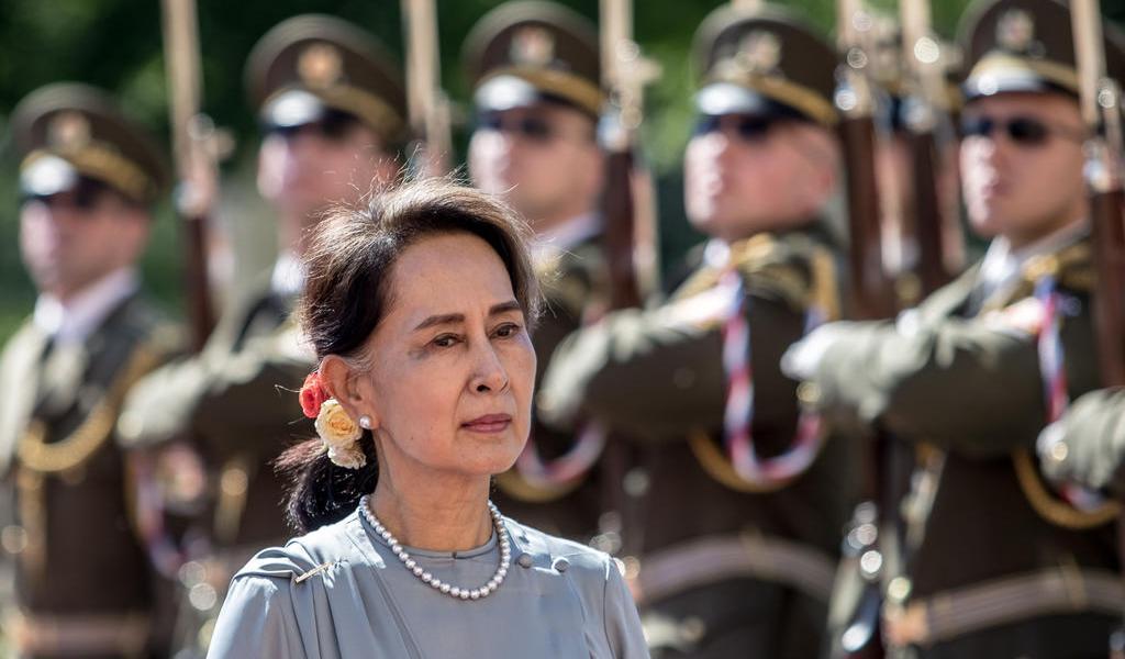 EUA pide liberar a Aung San Suu Kyi y a otros políticos detenidos en Myanmar