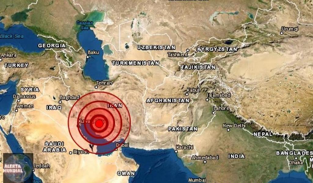 Al menos 10 personas heridas en Irán tras sismo de magnitud 5.6