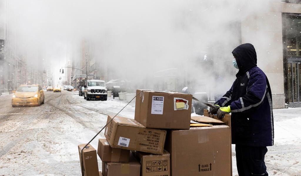 Tormenta invernal en EUA deja al menos 47 muertos y millones sin electricidad