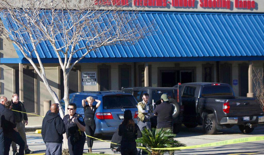 Reportan tres muertos tras tiroteo en tienda de armas en Nueva Orleans