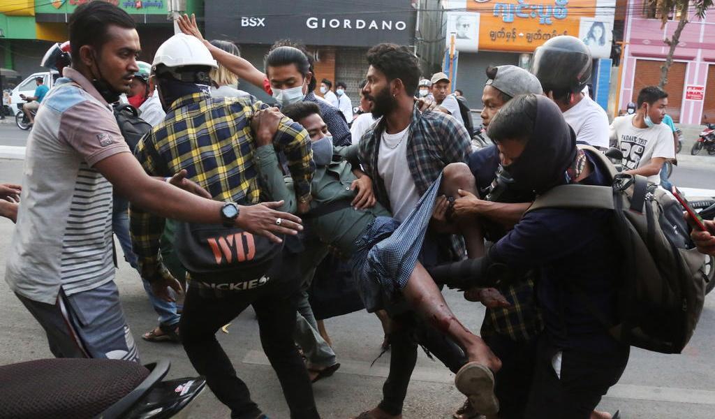 Represión en Myanmar deja al menos 18 muertos, según ONU