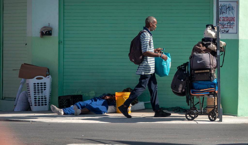 Cifra de personas sin techo sube por cuarto año consecutivo en EUA