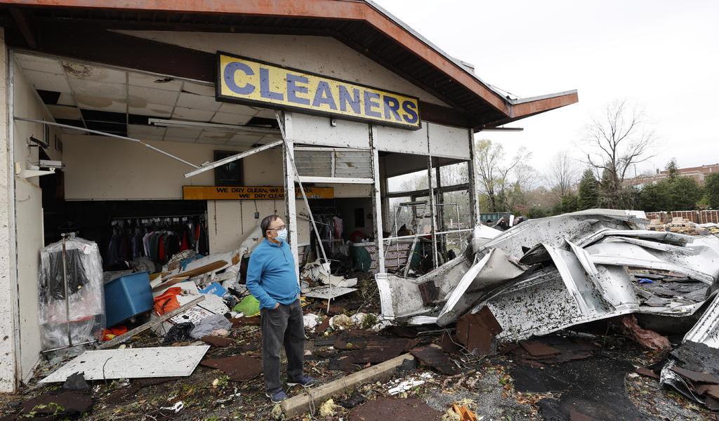 Tormentas dejan al menos 5 muertos en el sur de EUA