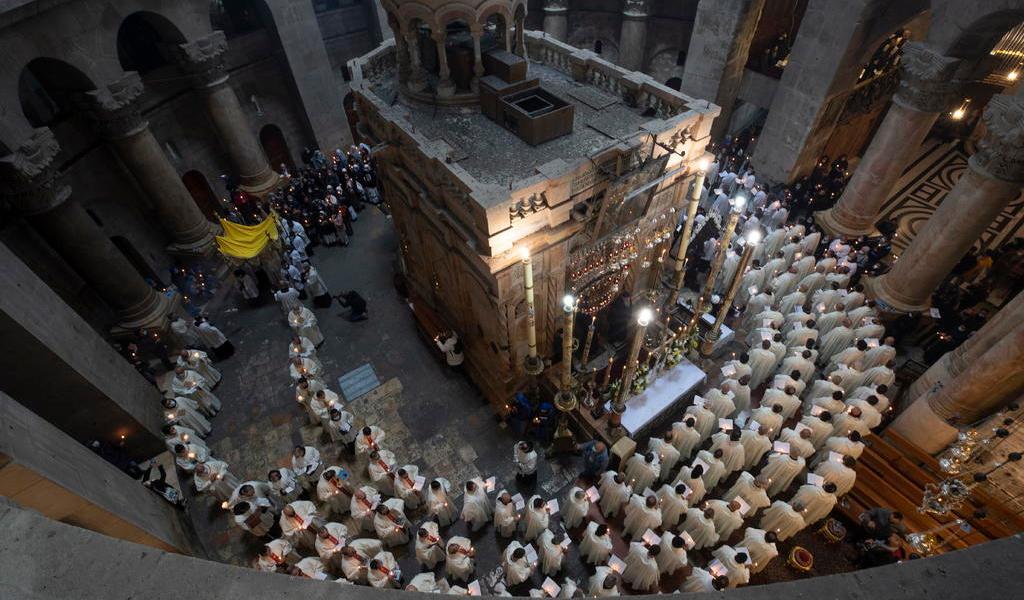 Celebra Jerusalén otro Jueves Santo en pandemia; ahora con cierta normalidad