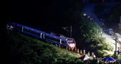 Accidente de tren en Taiwán deja al menos 48 muertos y decenas de heridos