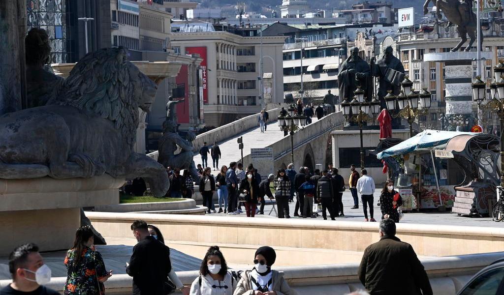 Macedonia del Norte paraliza censo por la pandemia de COVID-19