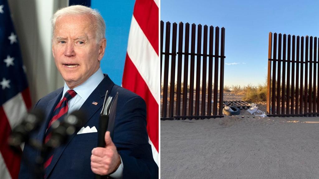 'Sheriffs' piden a Biden asegurar la frontera con México y retomar políticas de Trump