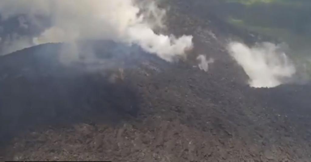 Volcán La Soufriere amenaza con erupción en San Vicente