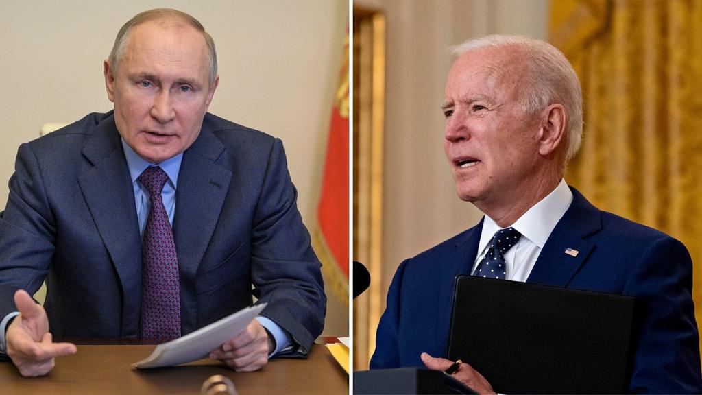Biden dice que su llamada con Putin fue 'sincera y respetuosa'
