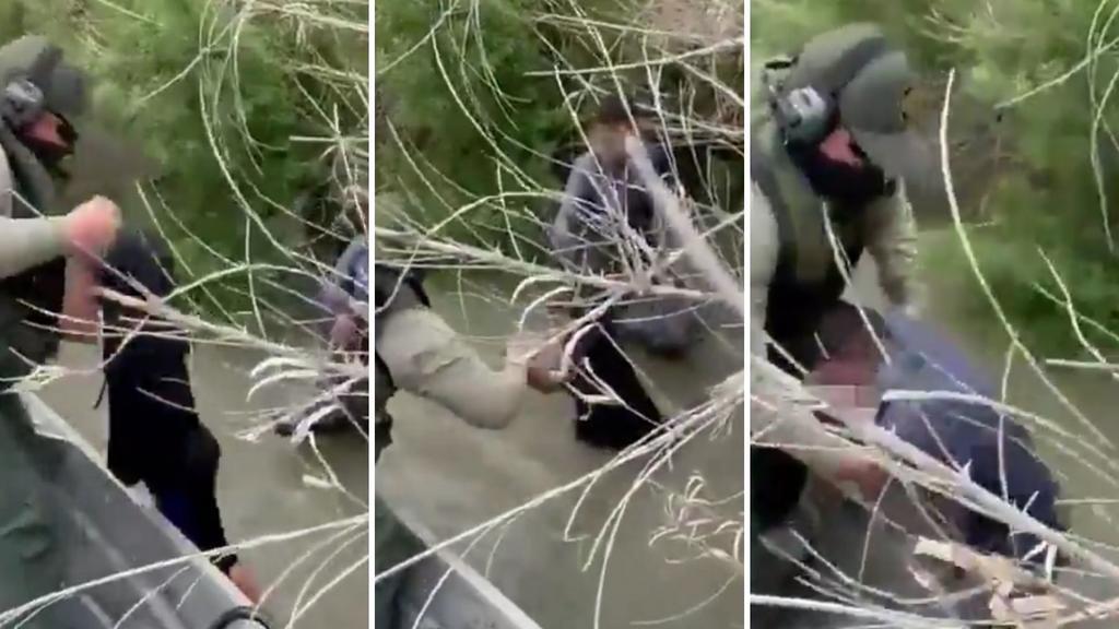 VIDEO: Patrulla Fronteriza rescata a dos menores migrantes del río Bravo