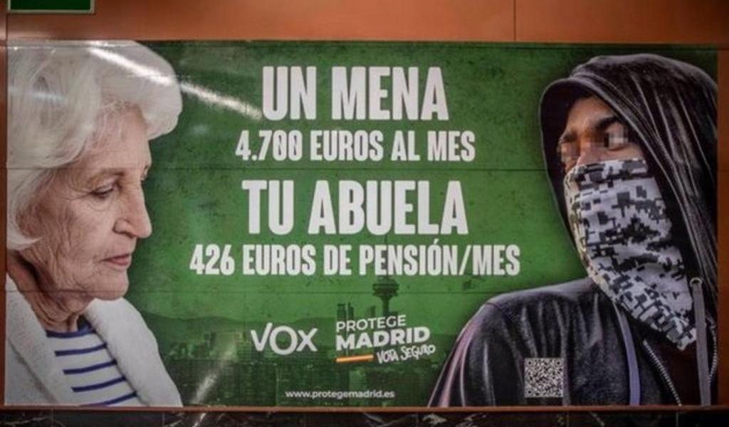Fiscalía señala a partido en España por incitar el odio a inmigrantes en campaña