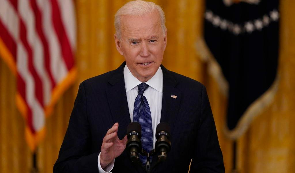 Biden respalda el 'derecho legítimo de Israel a defenderse'
