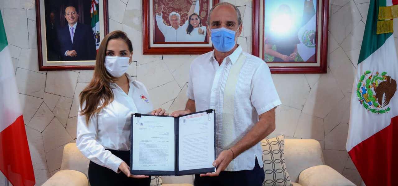 TIENDE MUNICIPIO DE BENITO JUÁREZ PUENTES ENTRE CANCÚN Y NÁPOLES, ITALIA